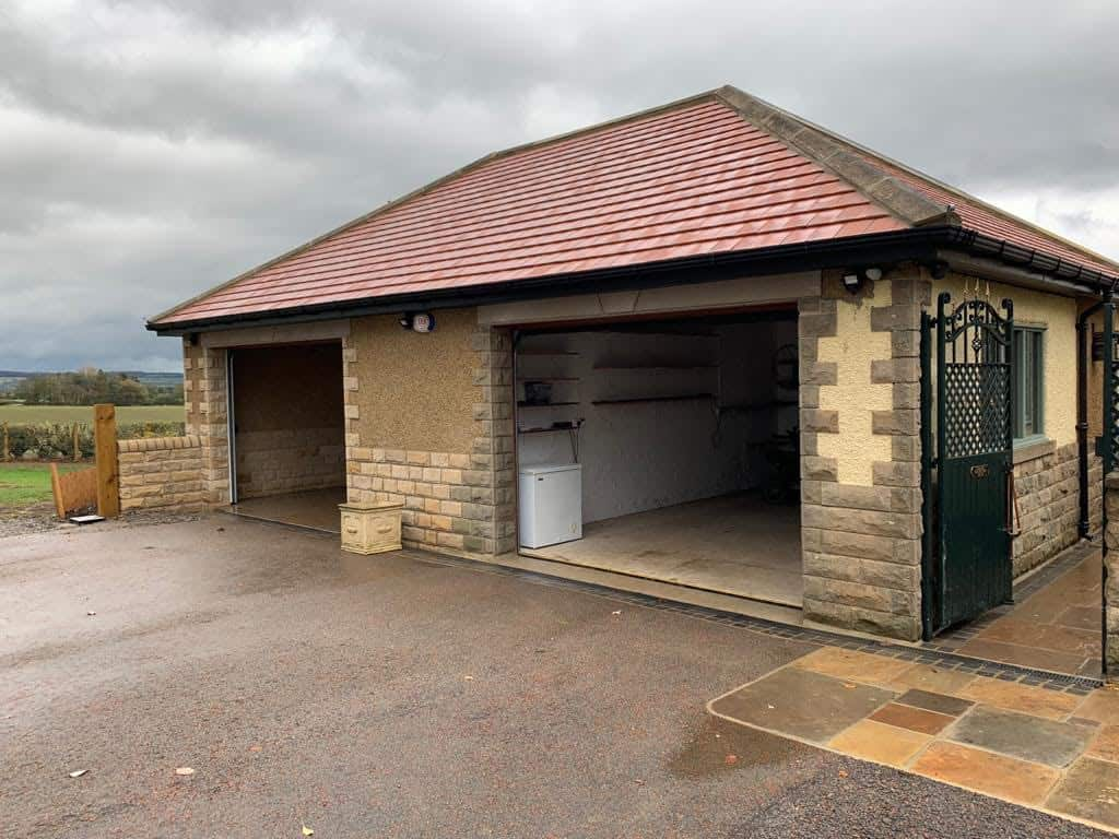 H-and-M-Construction-Country-Durham-Garage-Build-005